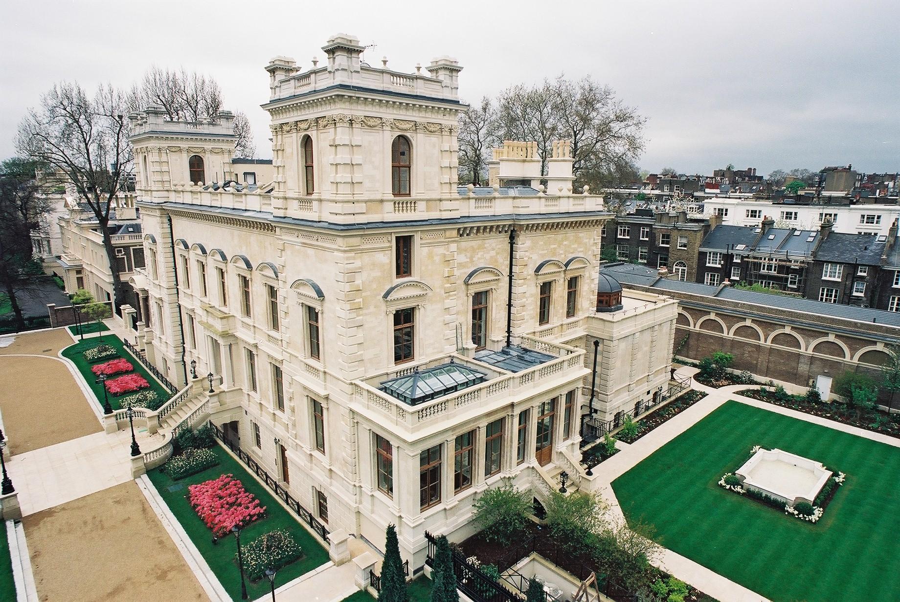 No 15 Kensington Palace Gardens Mccormick Flat Roofing